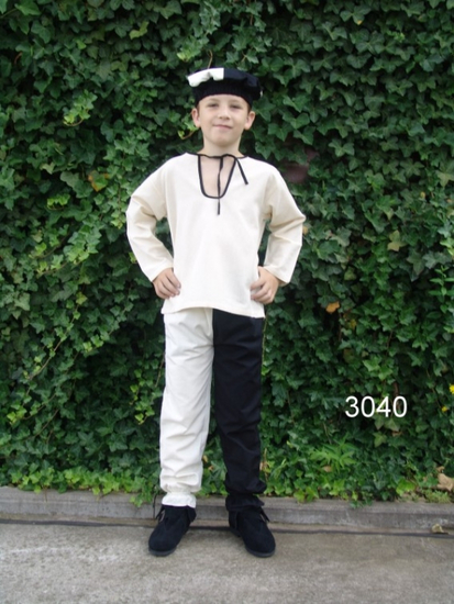 3040 Cotton childrens trousers