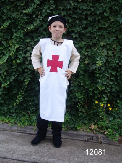 12081 Childrens tunic of the Knights Templar