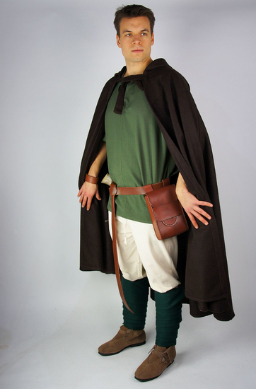 Classic medieval cape Elinor Brown