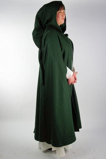 Wool cape with arm slits Frank Green