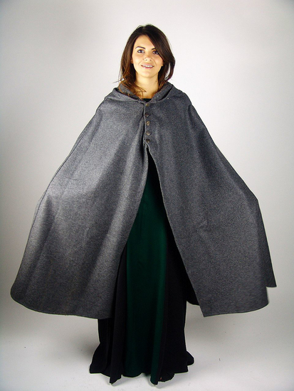 Medieval lady cape Heidi Grey