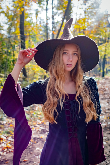Witch Hat Agata Brown