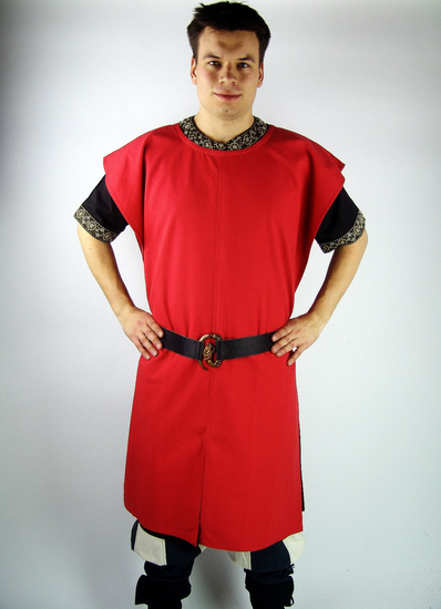 Monochrome tunic FRederick Red