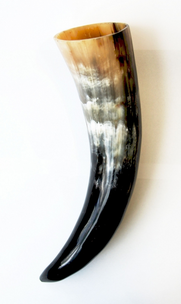 Drinking horn, approx. 0.4 l