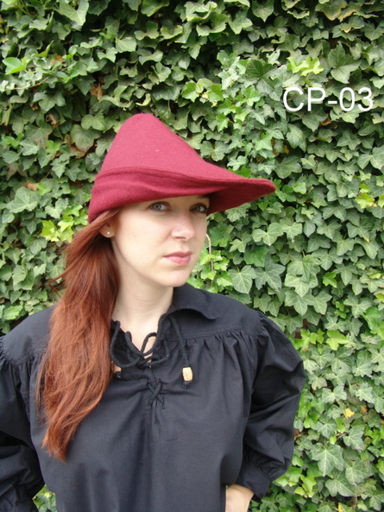 Robin Hood Hat Red