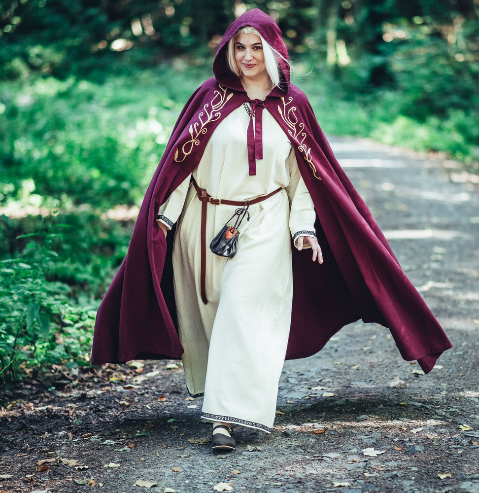 Medieval cape Lyra Red