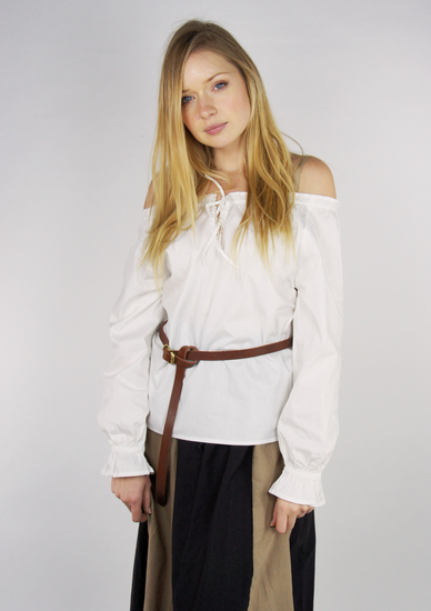 Medieval Blouse Edith White
