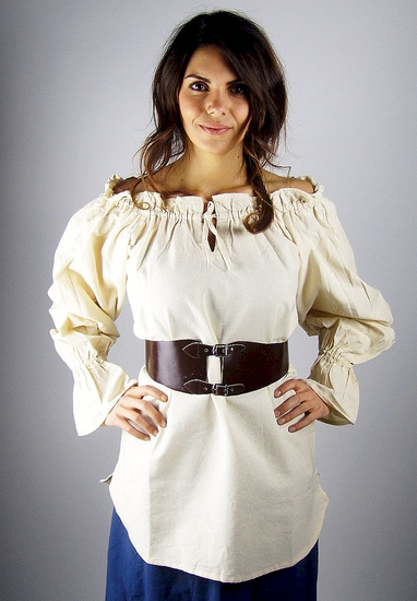 Medieval Blouse Morgan Natural