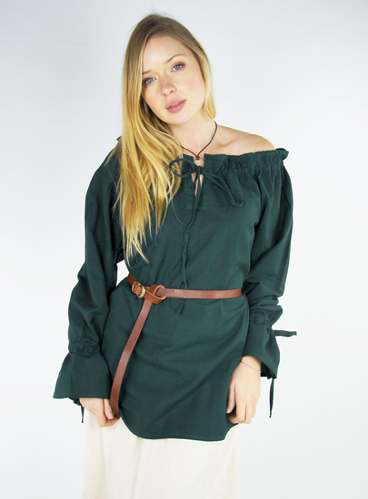 Medieval Blouse Morgan Green