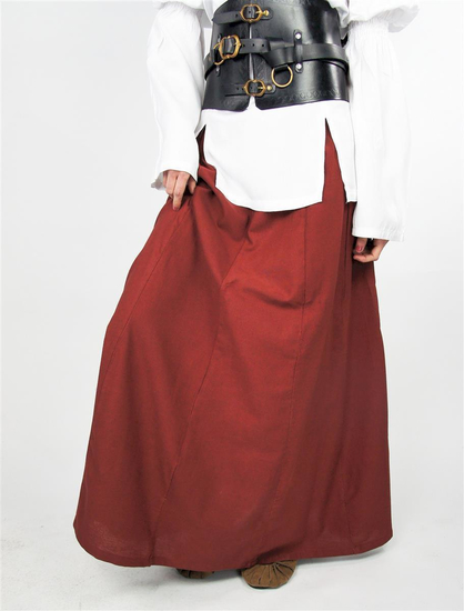 Medieval skirt Dana Red