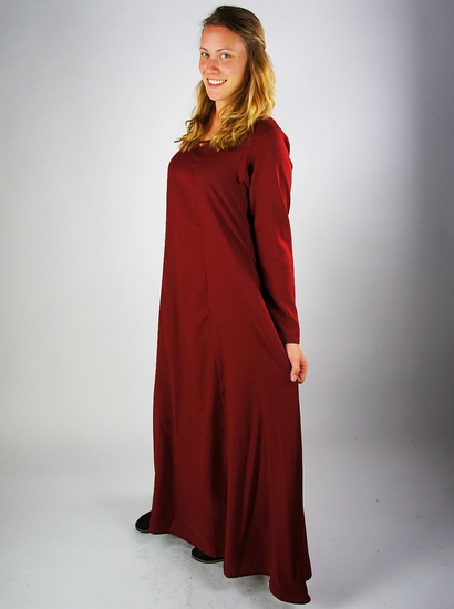 Plain Viking underdress Scarlet Red