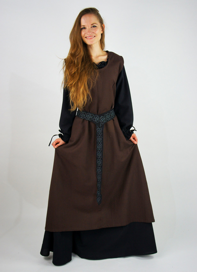 Rural overdress Gerda Dark brown