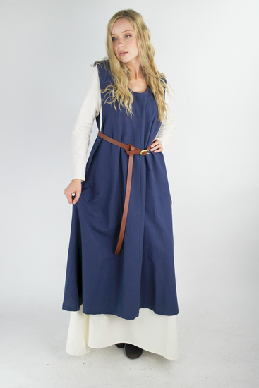 Rural overdress Gerda Blue