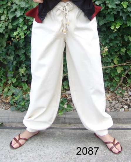Medieval trousers Gerold Natural