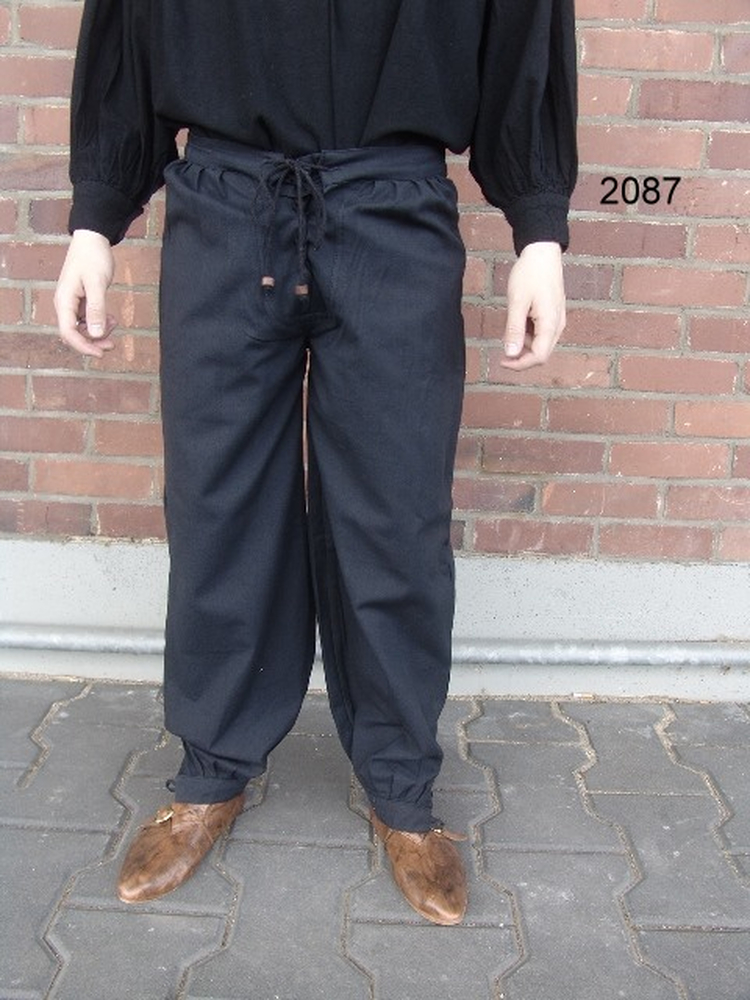 Medieval trousers Gerold Black