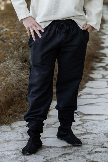 Medieval pants Arvo Black