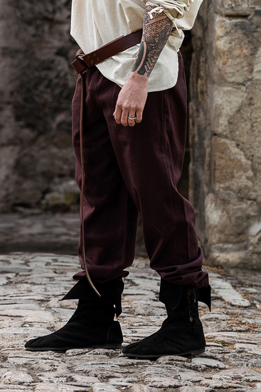Medieval pants Arvo Dark brown