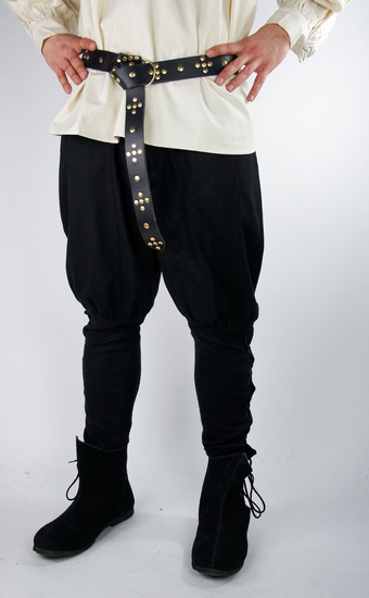 Viking wool pants Jorgen Black