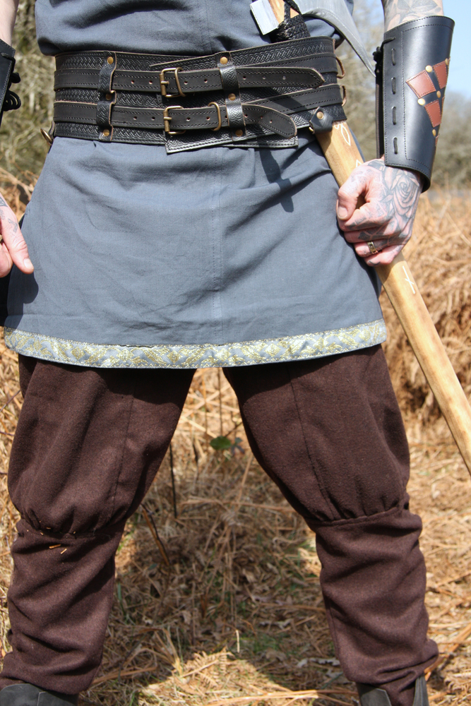 Viking wool pants Jorgen Brown