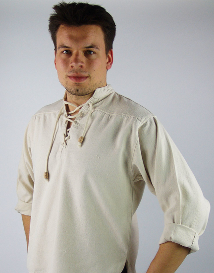 Medieval Shirt Ansbert Natural