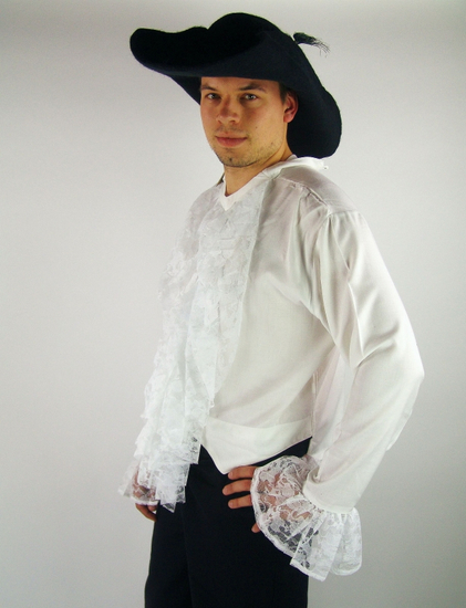 Baroque shirt White