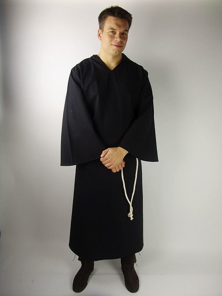 Monks habit Bendict Black