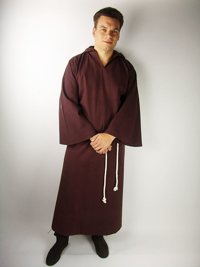 Monks habit Bendict Brown