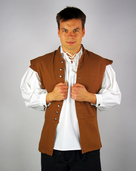 Classic doublet Charles tobacco brown