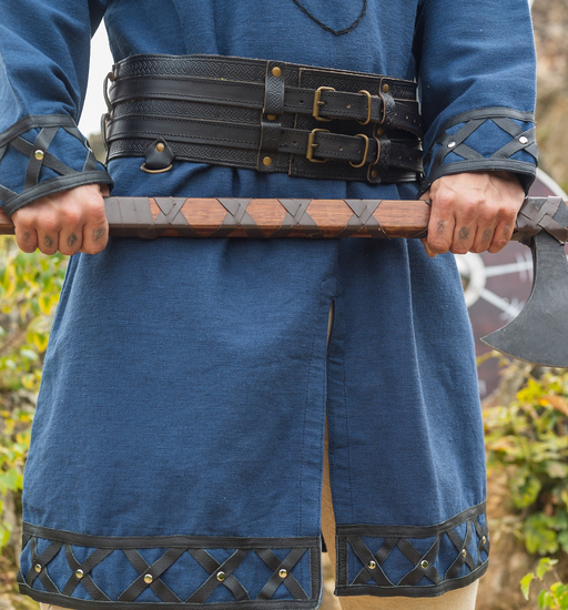 Robust Viking belt Anike Black