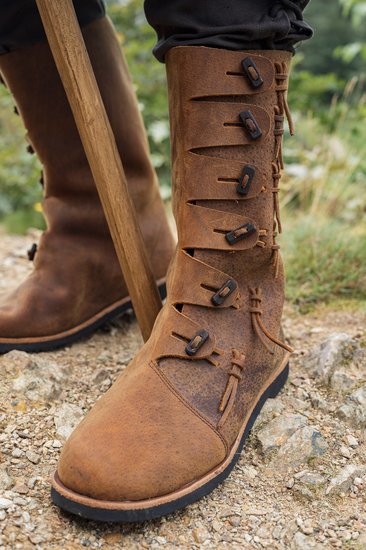 Viking boots Odin Brown