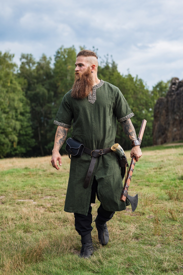 Short sleeve tunic with border Richard green