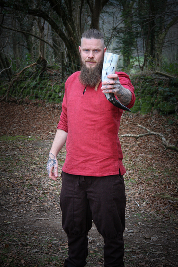 Viking tunic Ivar Red