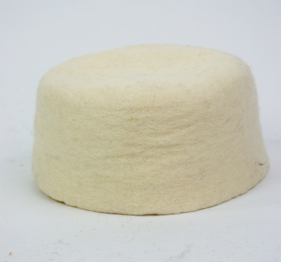 Wool felt cap Hans Natural