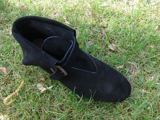 Middle aged shoe Albin Black