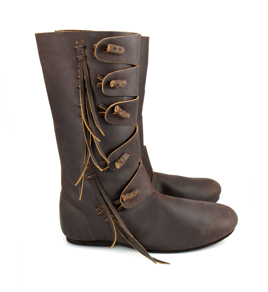 High Viking boots Rasmus Brown