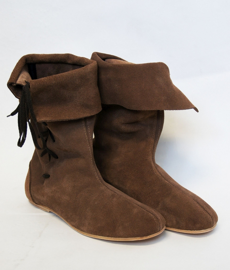 Gauntlet boot with leather sole Lambert brown