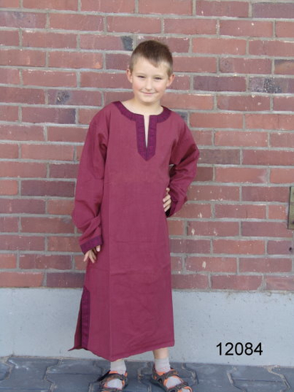 Childrens tunic Joel Red