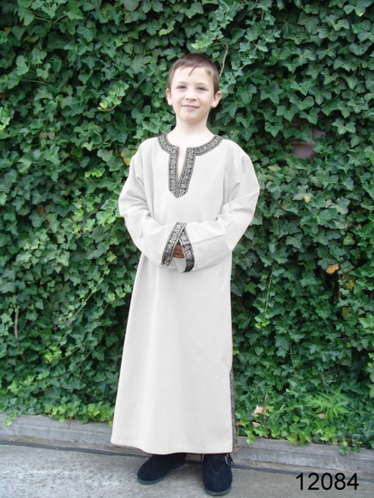 Childrens tunic Joel Natural