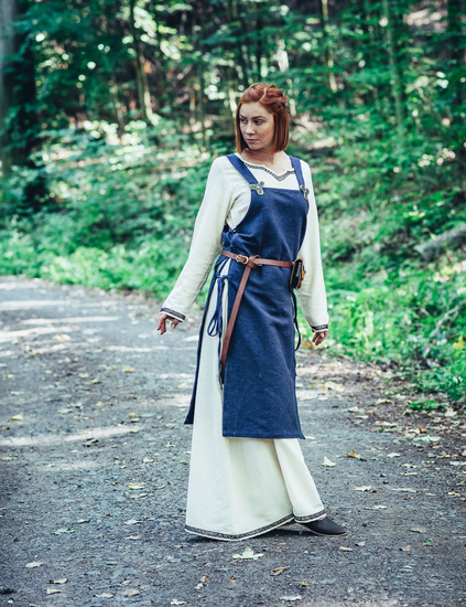 Viking dress Aleiga Blue