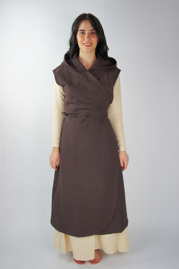 Wrap dress Gerlin Dark brown