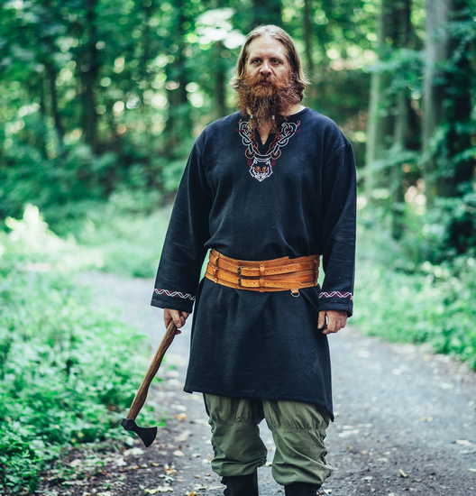 Viking tunic Freki Black