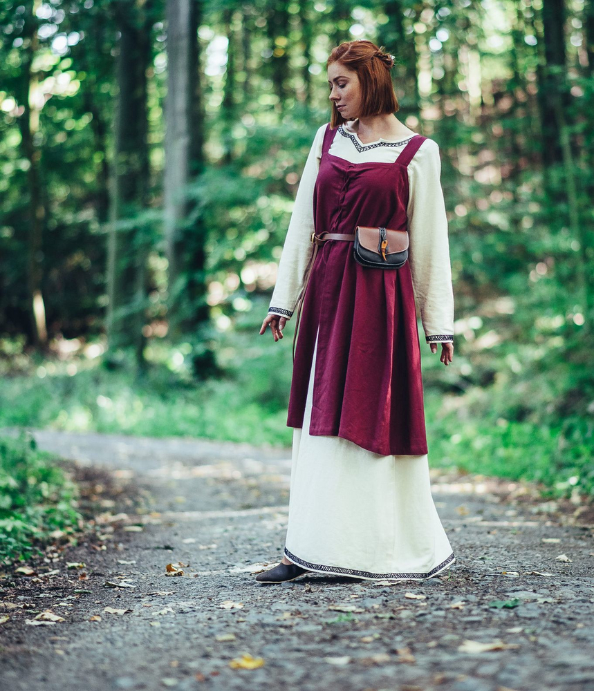 Viking Overdress Inca Red