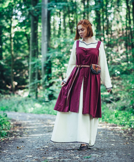 Viking overdress Inka Red