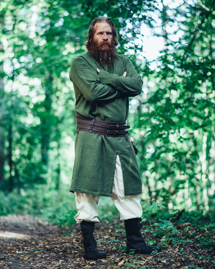 Viking long tunic Lennart- Green